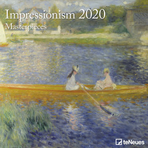 Calendrier 2020 Impressionniste