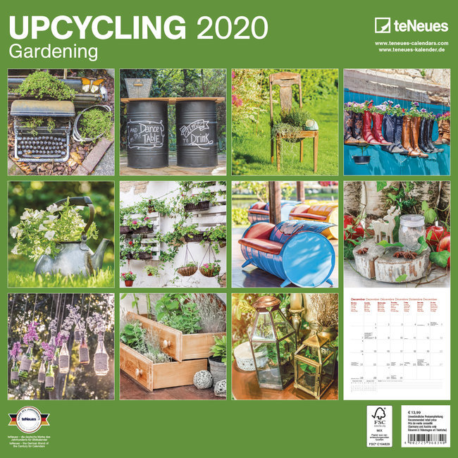 Calendrier Plantation 2020.Calendrier 2020 Jardin Recycle