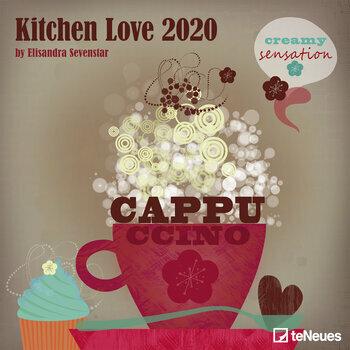 Calendrier 2020 cuisine - Affiche cuisine retro ...