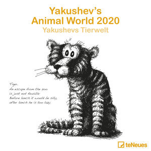 Calendrier 2020 Caricatures Animaux