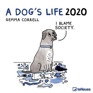Calendrier 2020 BD humour chien - a dog's life