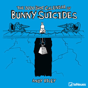 Calendrier 2020 Lapin suicidaire - Andy Riley