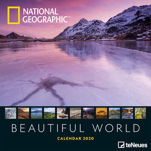 Calendrier 2020 National Geographic Le Monde et sa beauté