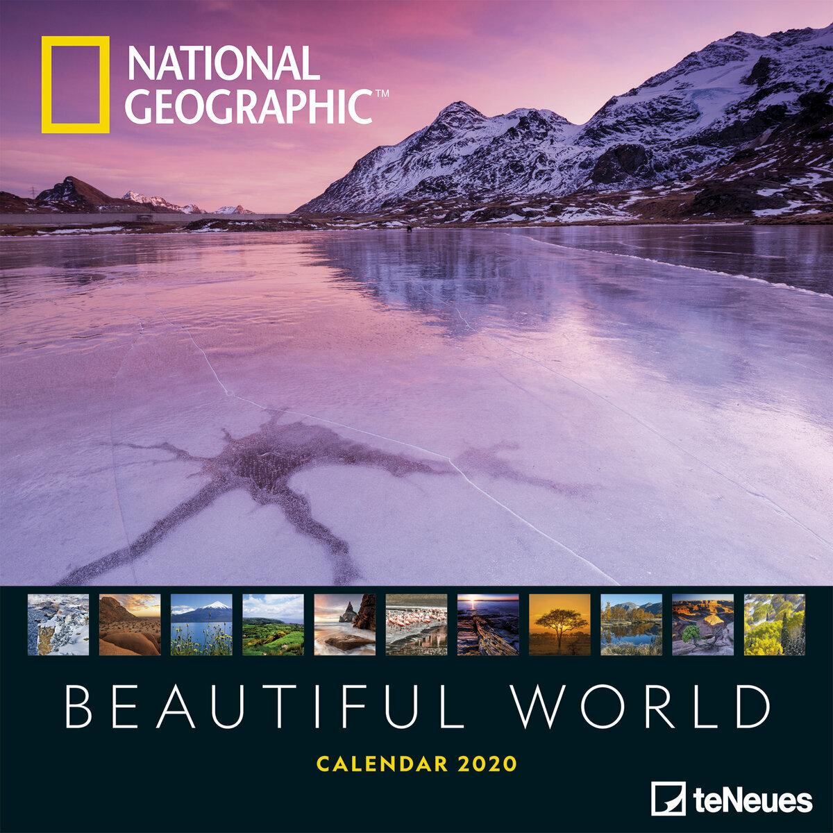 Calendrier National 2020.Calendrier 2020 National Geographic Le Monde Et Sa Beaute