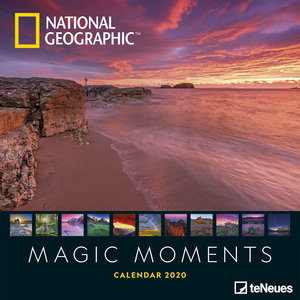 Calendrier 2020 National Geographic Couché de soleil
