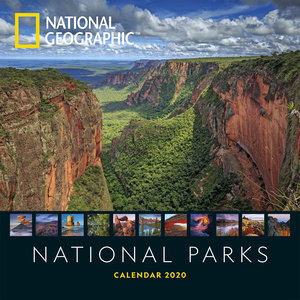 Calendrier 2020 National Geographic Parc Nationaux