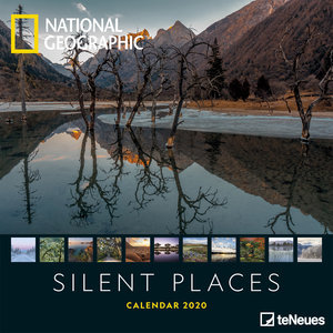 Calendrier 2020 National Geographic Lieux silencieux