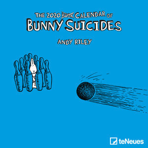 Mini calendrier 2020 Lapin suicidaire- Andy Riley