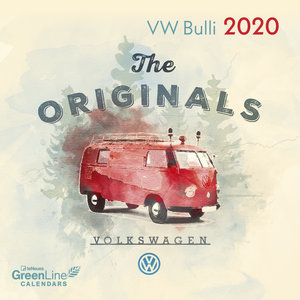 Mini calendrier 2020 Eco-responsable Combi VW