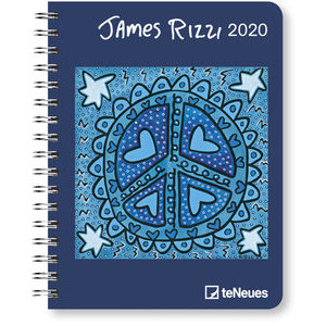 AGENDA DELUXE JAMES RIZZI 2020