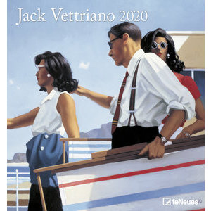Maxi Calendrier 2020 Art et photo Jack Vettriano
