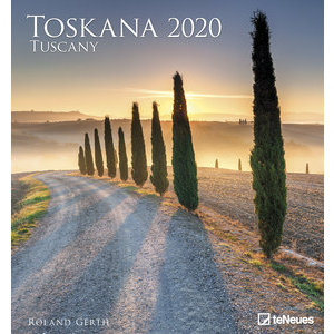 Maxi Calendrier 2020 Art et photo Toscane