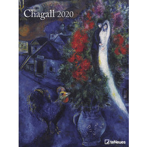 Maxi Calendrier Poster 2020 Marc Chagall