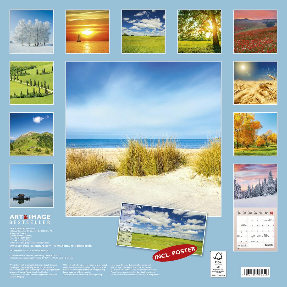 Calendrier 2020 Avec Photos.Calendrier 2020 Moment Silencieux Avec Poster Offert