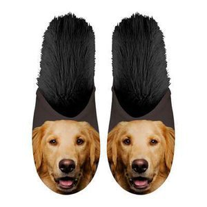 Chaussons Golden retriever