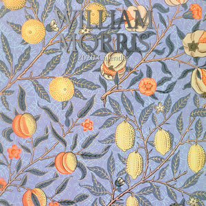 Calendrier 2020 Fleur - William Morris