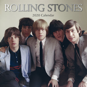 Calendrier 2020 Rolling stones