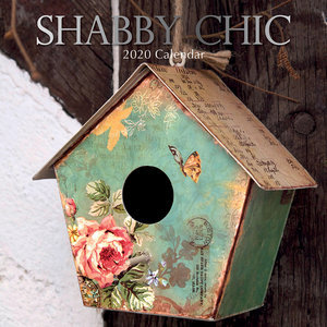 Calendrier 2020 Shabby chic