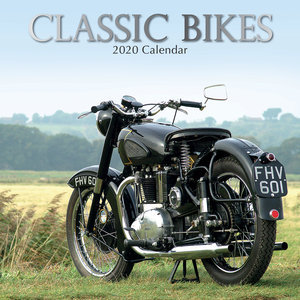 Calendrier 2020 Moto de collection