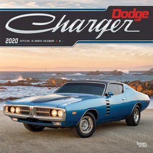 Calendrier 2020 Dodge Charger