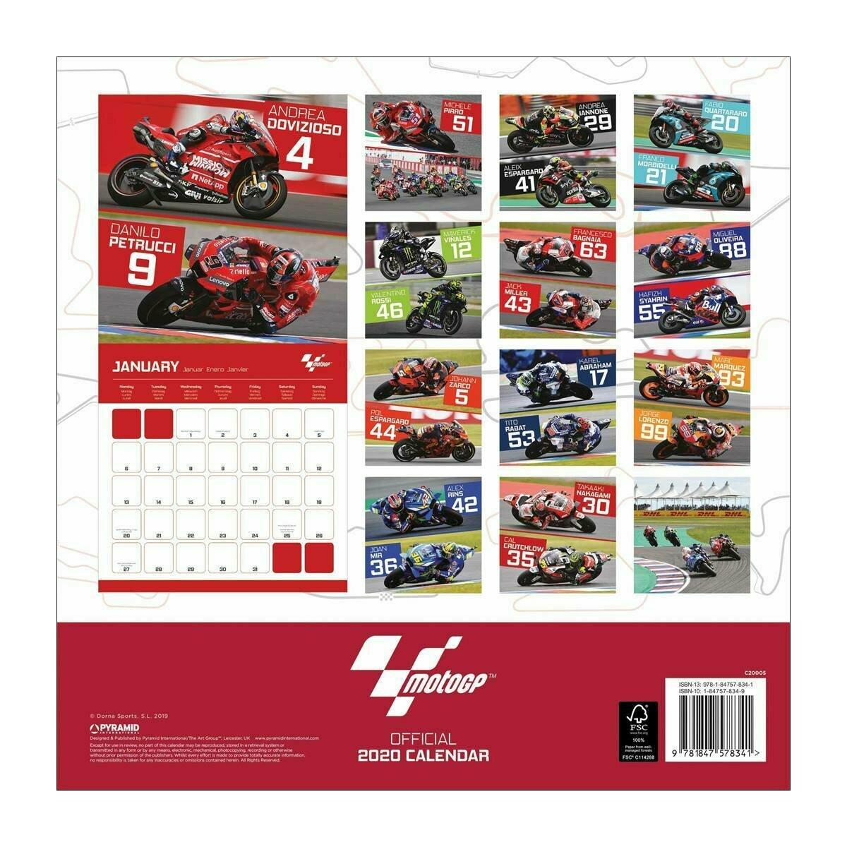 Calendrier Prix.Calendrier 2020 Moto Grand Prix