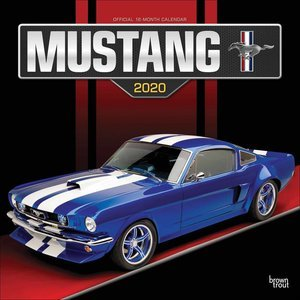 Calendrier 2020 Mustang