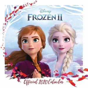 Calendrier 2020 Reine des neiges disney 2