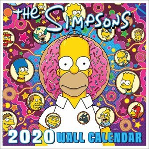 Calendrier 2020 Simpsons