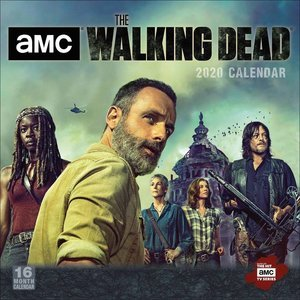 Calendrier 2020 The walking dead