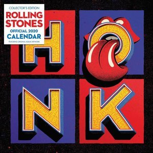 Calendrier 2020 Rolling stones édition Collector