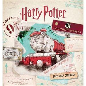 CALENDRIER CHEVALET HARRY POTTER 2020