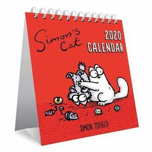 CALENDRIER CHEVALET SIMON CAT 2020