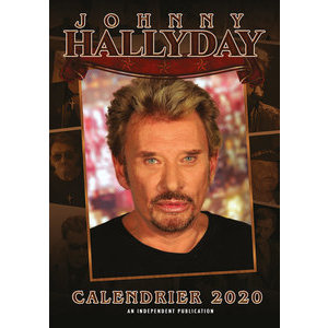 Calendrier 2020 Johnny Hallyday format A3