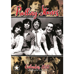 Calendrier 2020 Rolling stones format A3