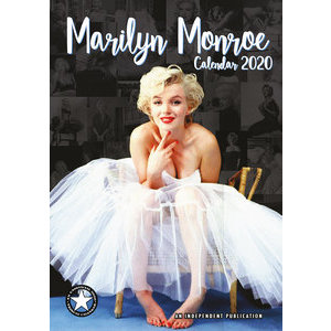 Calendrier 2020 Marilyn Monroe format A3