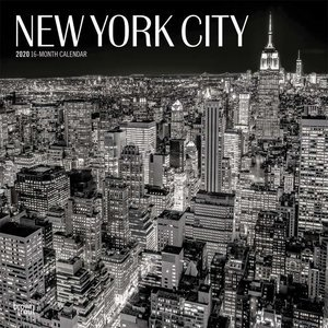 Calendrier 2020 New York city
