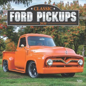 Calendrier 2020 Pickup Ford vintage