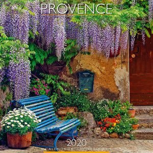 Calendrier 2020 Provence - banc