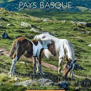 Calendrier 2020 Pays basque chevaux