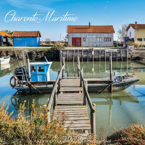 Calendrier chevalet 2020 Charente maritime - port