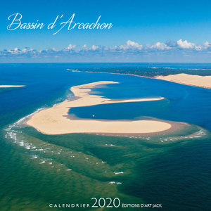 Calendrier chevalet 2020 Bassin d'arcachon