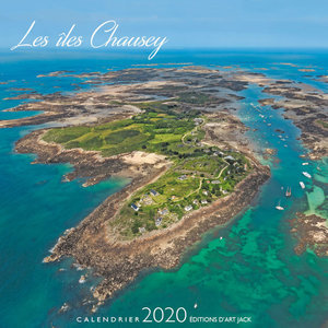 Calendrier chevalet 2020 Iles Chausey