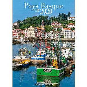 Agenda de poche Pays basque port 2020