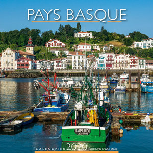 Calendrier chevalet 2020 Pays basque port