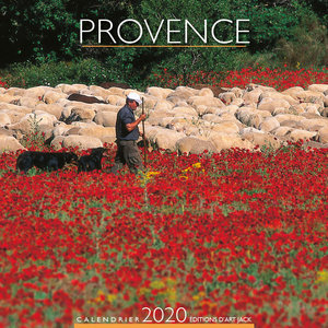 Calendrier chevalet 2020 Provence mouton