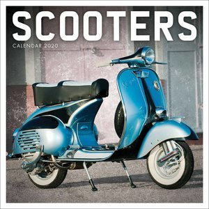 Calendrier 2020 Scooters vintage