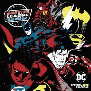 Calendrier 2020 Justice League DC comics