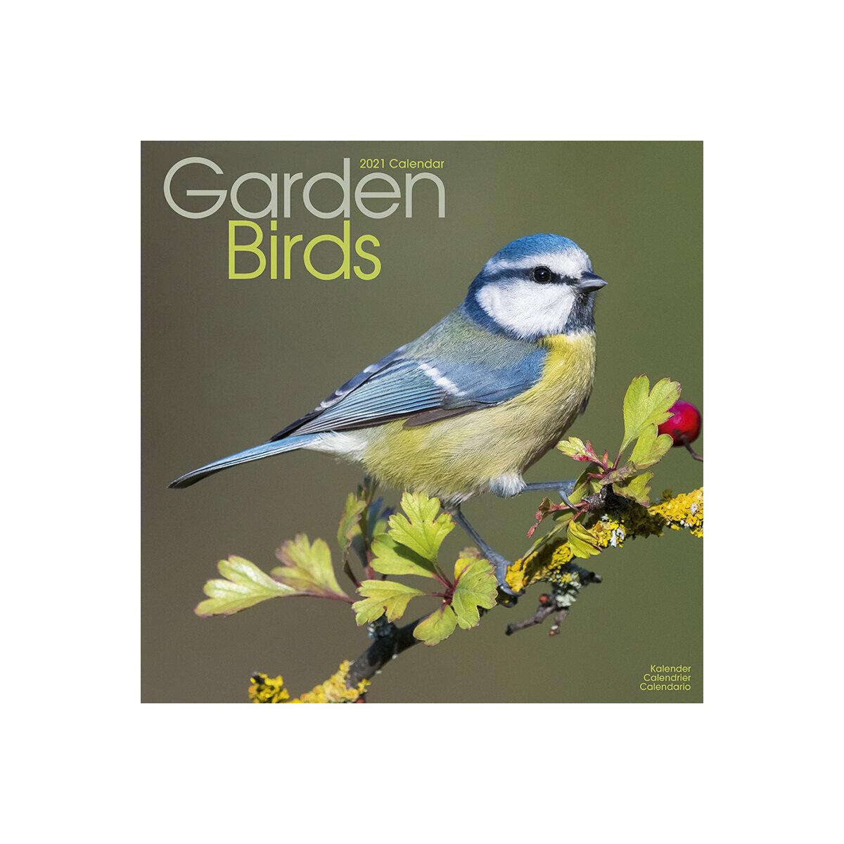 Calendrier 2021 Oiseaux du jardin