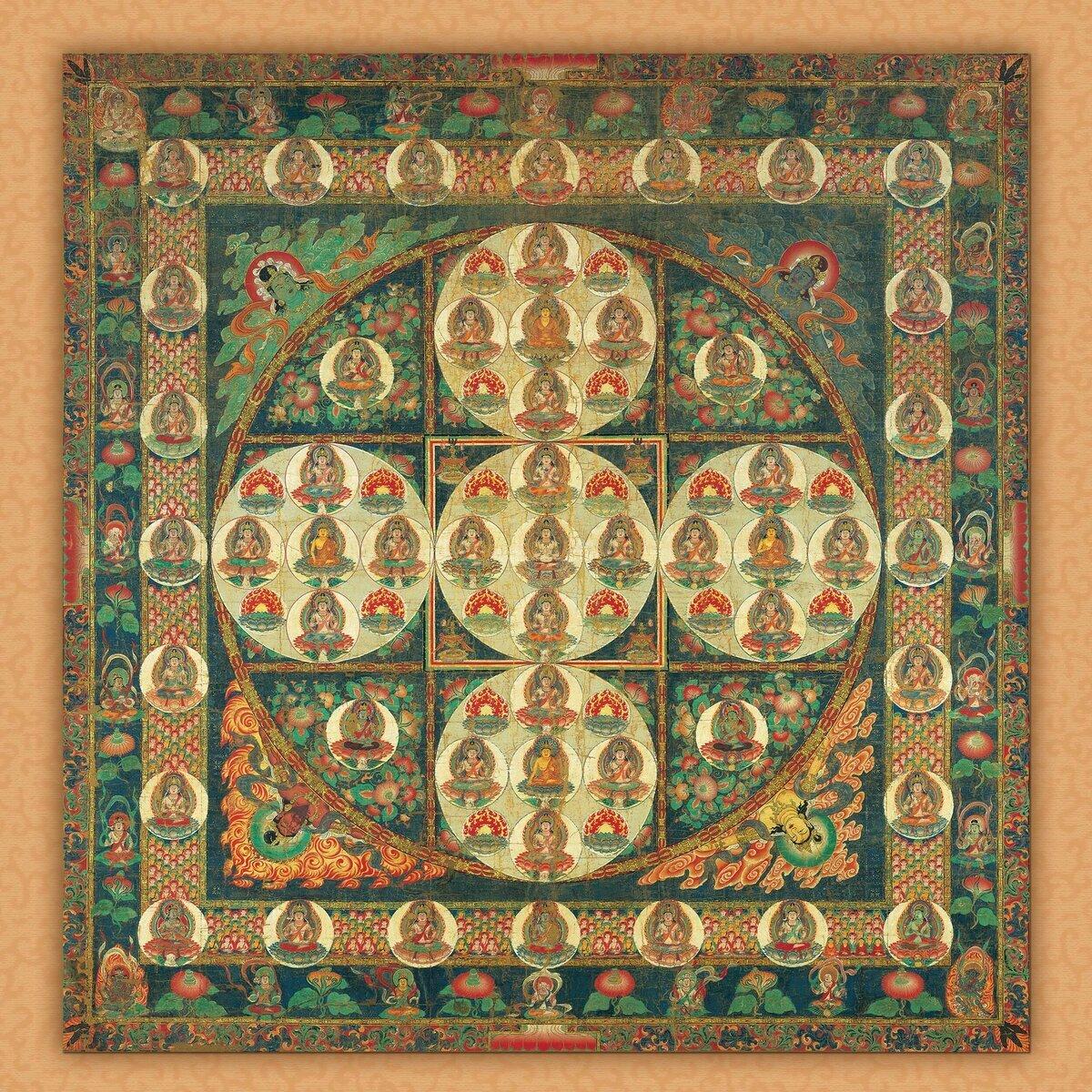Calendrier 2021 Bouddha Mandala