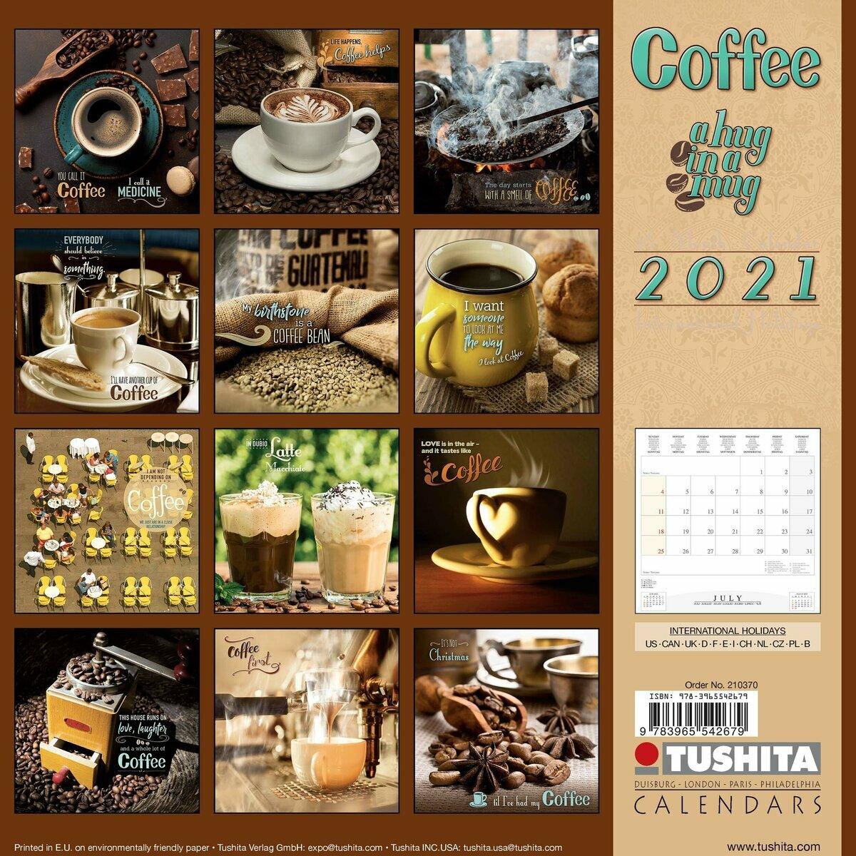 Calendrier 2021 Café